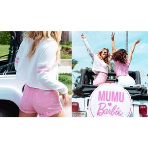 💕Show Me Your Mumu💕 Barbie High Rise Denim Short
